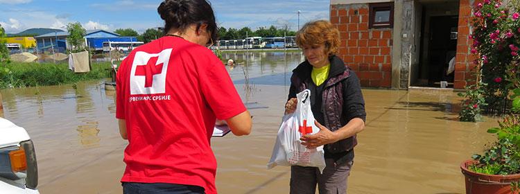 Alluvione in Serbia. Stato di emergenza
